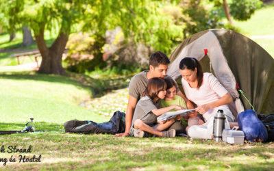 Kempingezés családdal – Ahol igazán együtt lehet a család