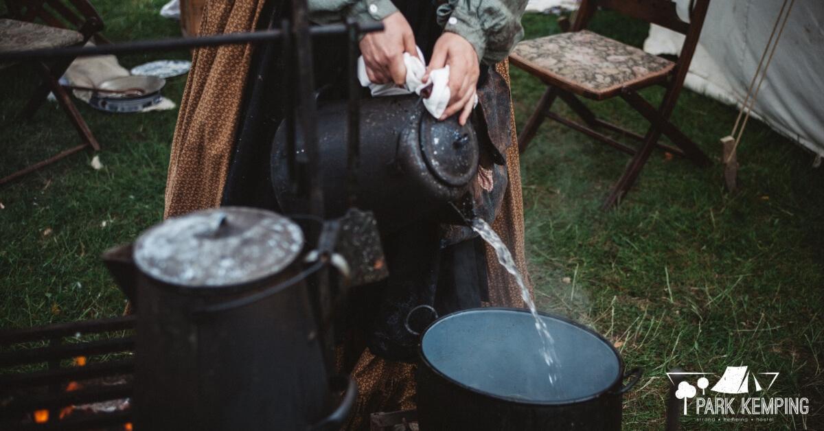 Kemping felszerelések - higiénia