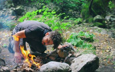 Tűzgyújtás szakszerűen a szabadban